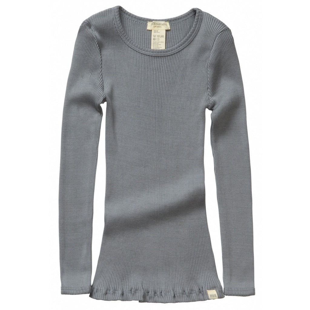 Blouse babies wear organic sustainable luxurious fashion children clothes silk seamless merino wool natural design nordic minimalisma shop sale Bergen 6-14Y Stone--14496027934793,14496028033097,14496028131401,14496028229705