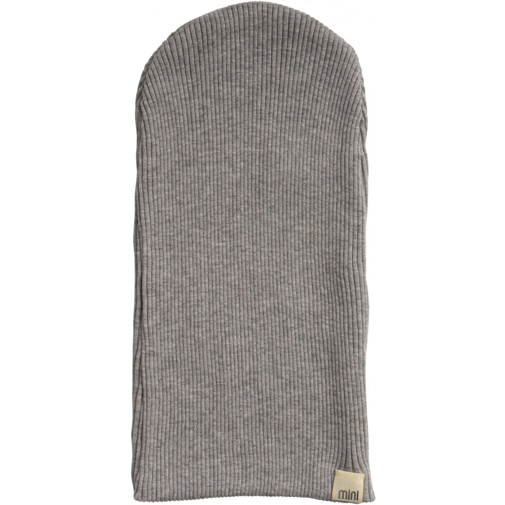 Hat / Bonnet babies wear organic sustainable luxurious fashion children clothes silk seamless merino wool natural design nordic minimalisma shop sale Bambi Grey Melange