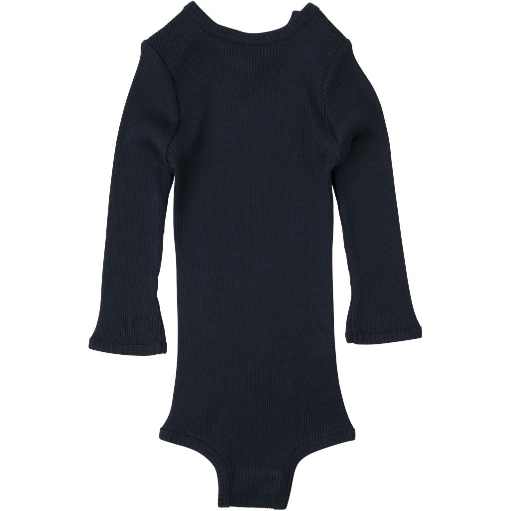 Body babies wear organic sustainable luxurious fashion children clothes silk seamless merino wool natural design nordic minimalisma shop sale Bono Dark Grey
