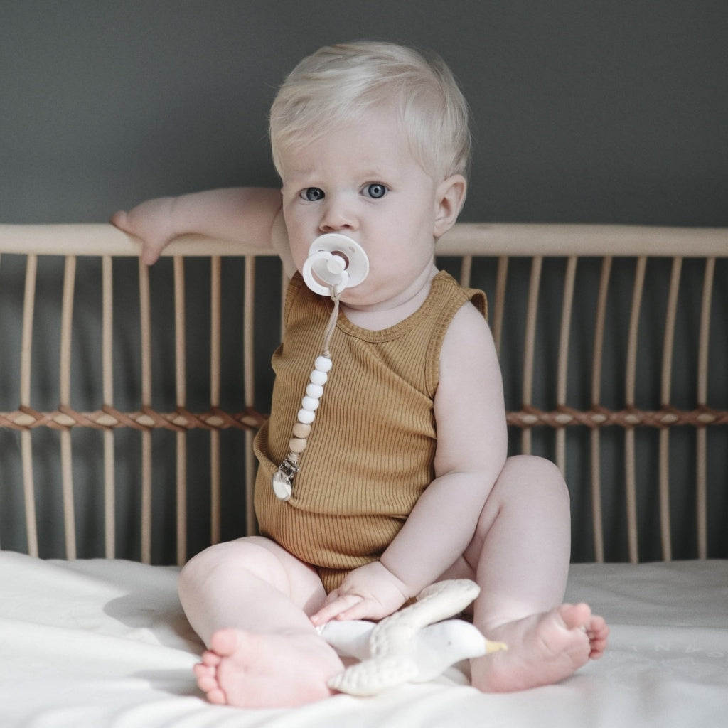 Body babies wear organic sustainable luxurious fashion children clothes silk seamless merino wool natural design nordic minimalisma shop sale Bornholm Golden Leaf