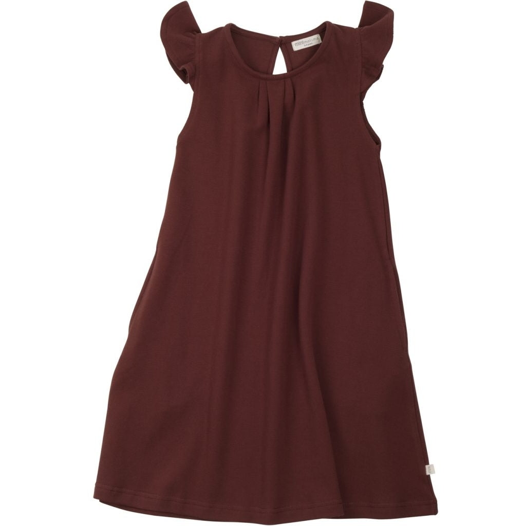 Dress babies wear organic sustainable luxurious fashion children clothes silk seamless merino wool natural design nordic minimalisma shop sale Estelle Fudge