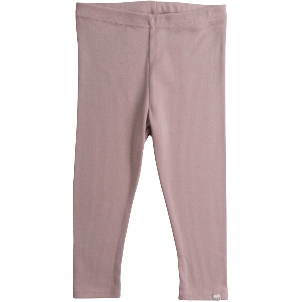 Leggings / pants babies wear organic sustainable luxurious fashion children clothes silk seamless merino wool natural design nordic minimalisma shop sale Nice 0-6Y Dusty Rose