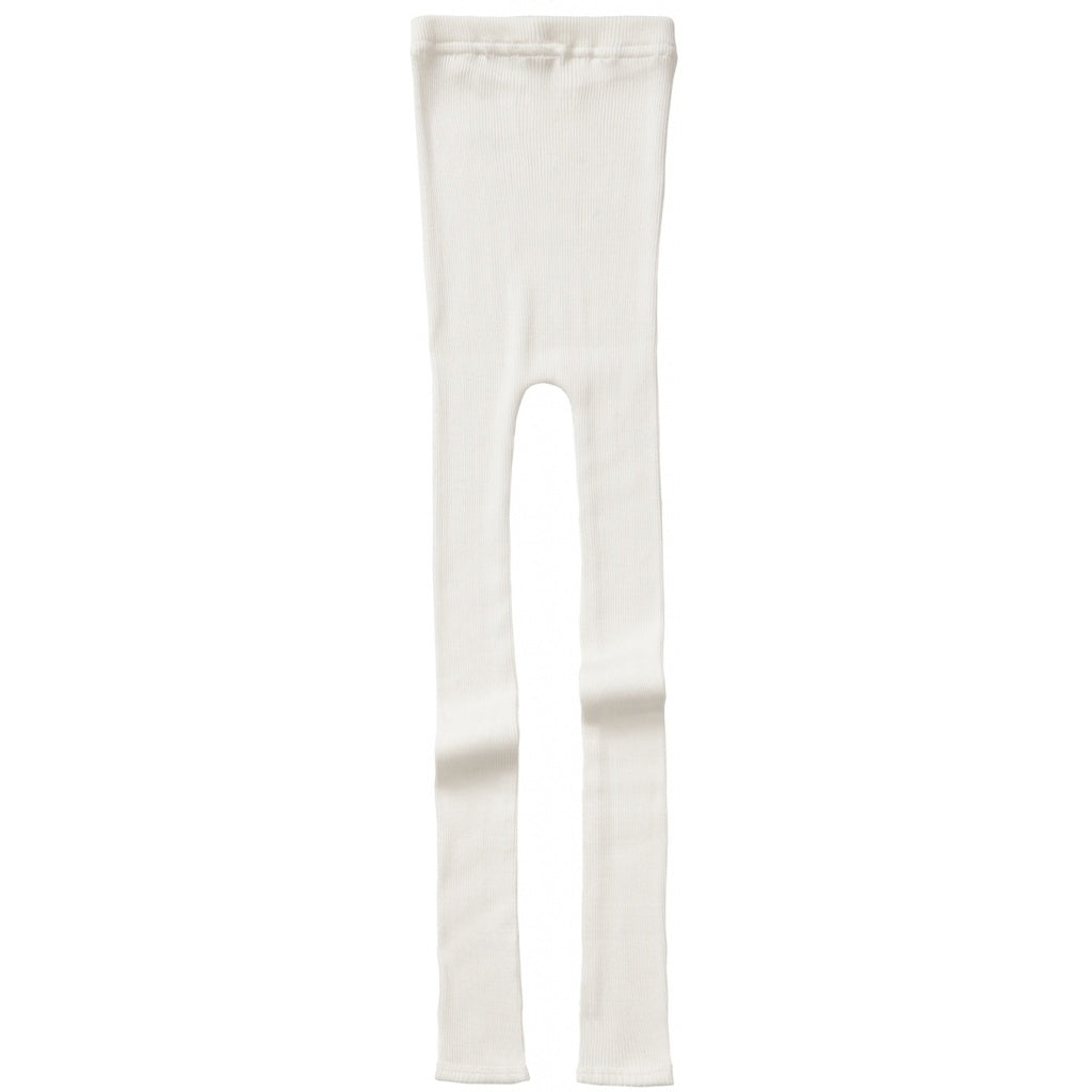 Leggings / pants babies wear organic sustainable luxurious fashion children clothes silk seamless merino wool natural design nordic minimalisma shop sale Bieber 6-14Y Cream