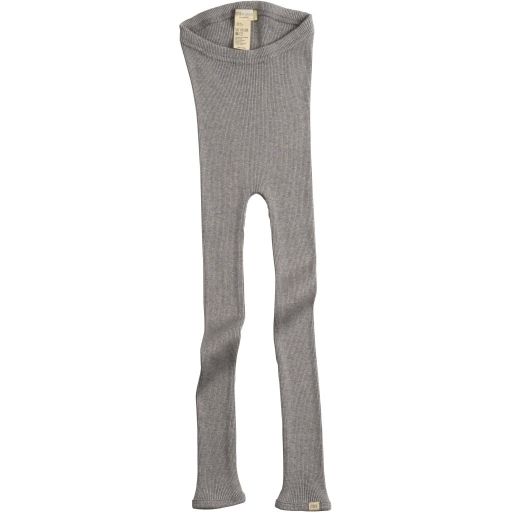 Leggings / pants babies wear organic sustainable luxurious fashion children clothes silk seamless merino wool natural design nordic minimalisma shop sale Bieber 6-14Y Grey Melange--31768125210705,31768125243473,31768125276241,31768125309009