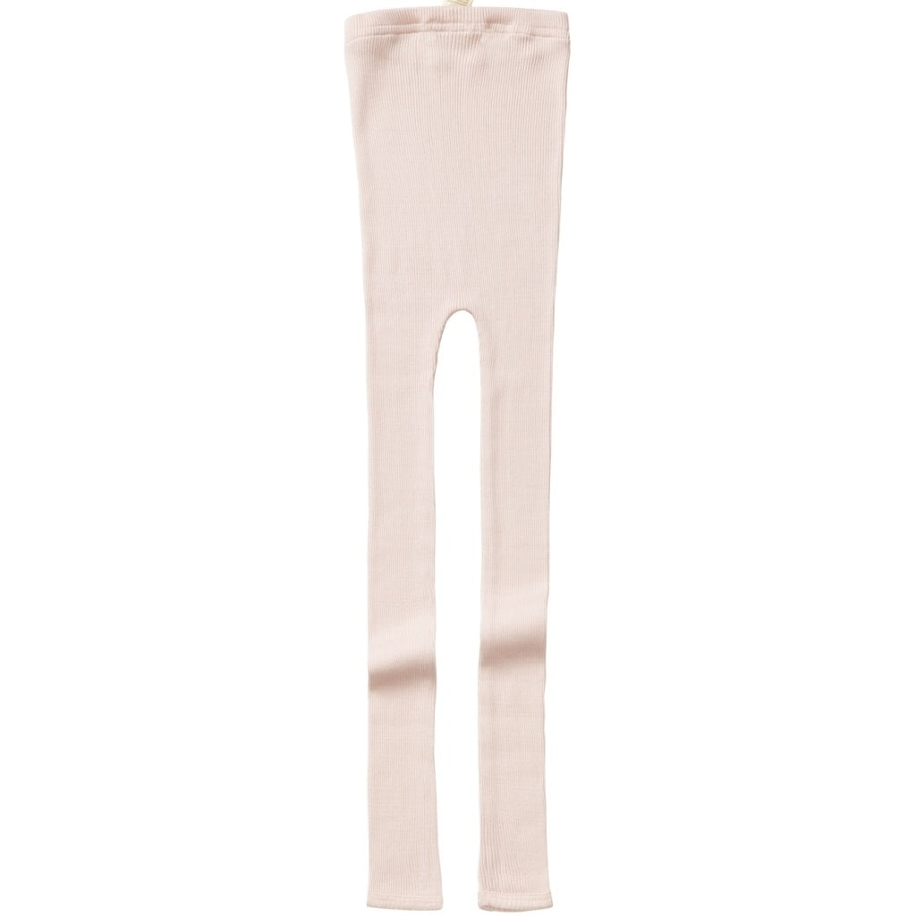 Leggings / pants babies wear organic sustainable luxurious fashion children clothes silk seamless merino wool natural design nordic minimalisma shop sale Bieber 6-14Y Sweet Rose