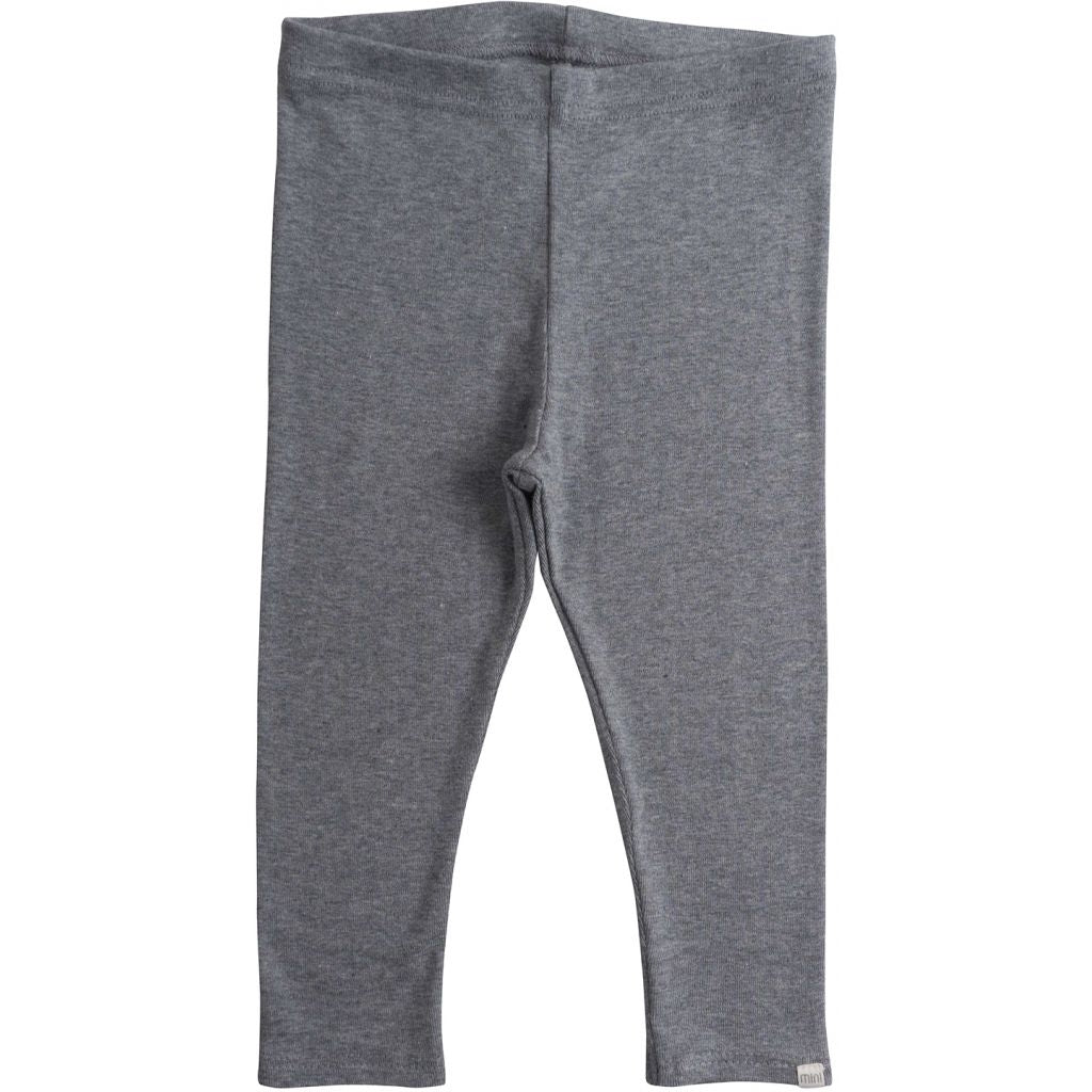 Leggings / pants babies wear organic sustainable luxurious fashion children clothes silk seamless merino wool natural design nordic minimalisma shop sale Nice 6-12Y Grey Melange