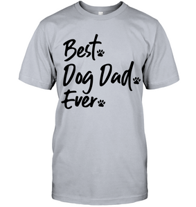 Best. Dog Dad. Ever. Men's Tee