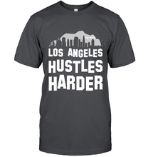Los Angeles Hustles Harder (White Print)
