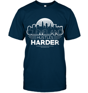 Cleveland Hustles Harder (White Print)