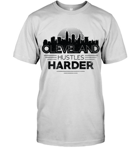 Cleveland Hustles Harder (Black Print)