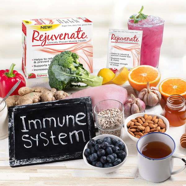 Rejuvenate Boosts Your Immune System