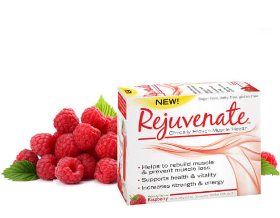 Rejuvenate Muscle Health- Raspberry flavor