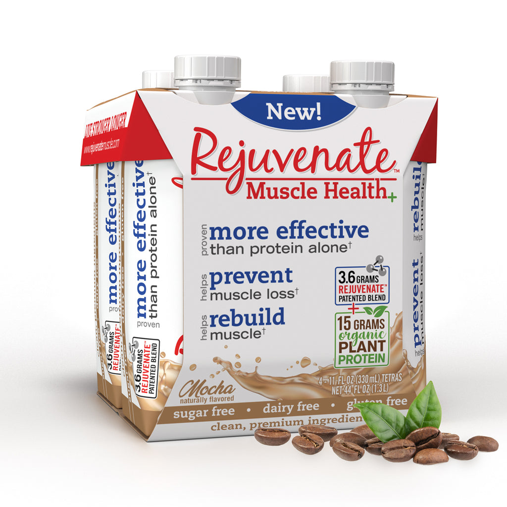 Rejuvenate Muscle Health- Mocha protein