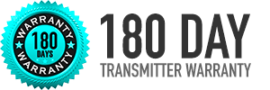 180 Day Warranty on DigiTrak and Subsite Transmitters