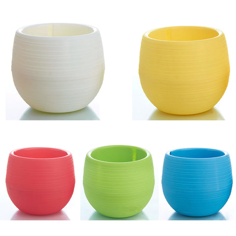 Mini Round Plastic Pot