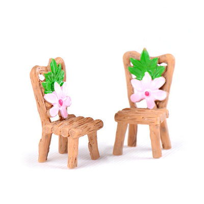 Artificial Micro Wood Chairs