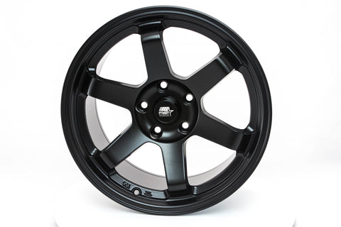 MT01 - Matte Black - 17x9.0 5x114.3 Offset +35