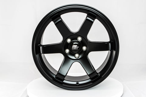 MT01 - Matte Black - 18x8.5 5x114.3 Offset +35