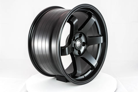 MT01 - Matte Black - 18x9.5 5x114.3 Offset +22