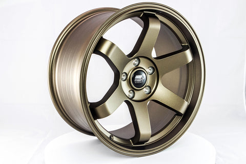 MT01 - Matte Bronze - 18x9.5 5x114.3 Offset +22