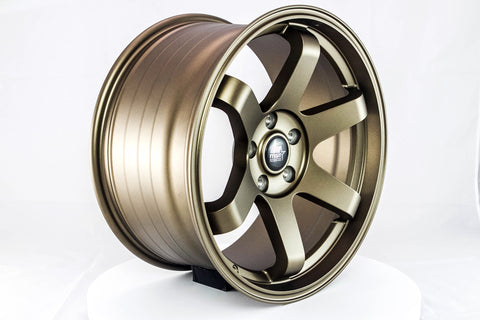MT01 - Matte Bronze - 18x9.5 5x114.3 Offset +35