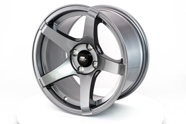 MT09 - Gunmetal - 15x8.0 4x100 Offset +20