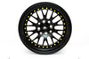 MT10 - Matte Black w/ Gold Rivets - 15x8.0 4x100/4x114.3 Offset +25