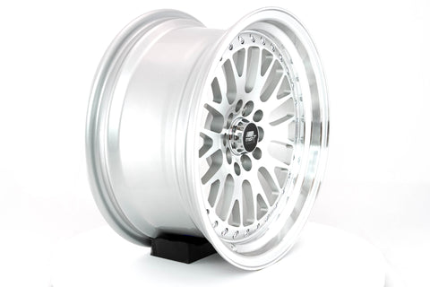 MT10 - Silver w/Machined Face - 16x8.0 5x100/5x114.3 Offset +20