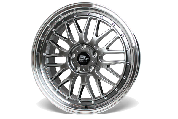 LeMan - Hyper Black w/Machined Lip - 19x9.5 5x120 Offset +35