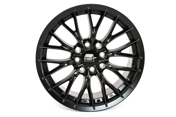 MT27 - Matte Black - 15x7.0 4x100/4x114.3 Offset +35