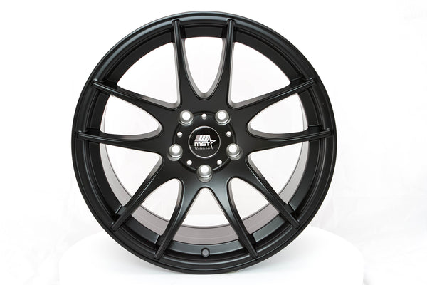 MT30 - Matte Black - 17x9.0 5x114.3 Offset +30
