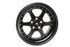 MT35 - Matte Black w/ Gold Rivets - 17x8.5 5X114.3 Offset +20