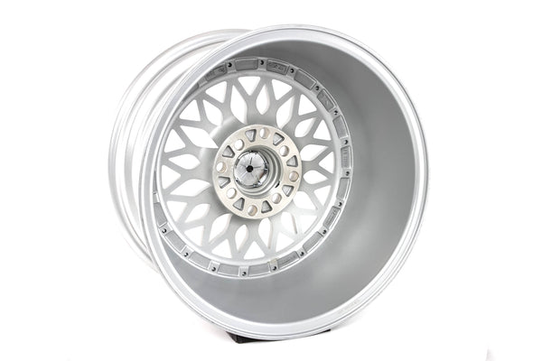 MT36 - Silver w/Machined Lip - 15x80 4X100/4X114.3 Offset +20