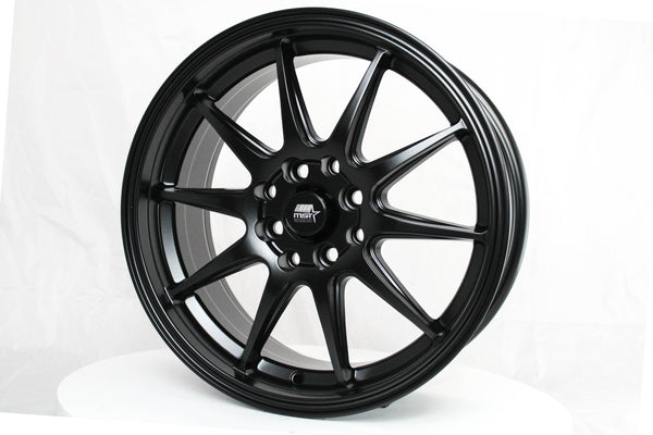 MT41 - Matte Black - 16X7.0 4X100/114.3 Offset +38