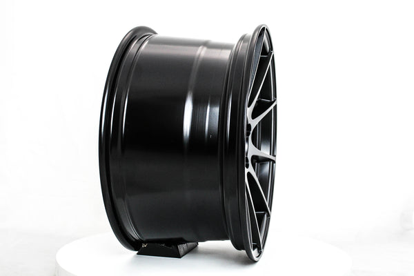 MT44 - Matte Black - 18x9.5 5x100 Offset +32