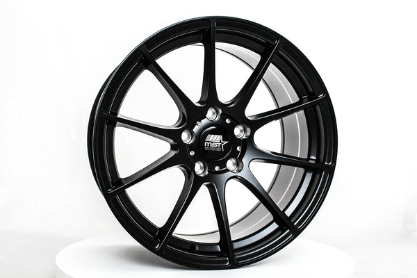 MT44 - Matte Black - 18x9.5 5x114.3 Offset +32