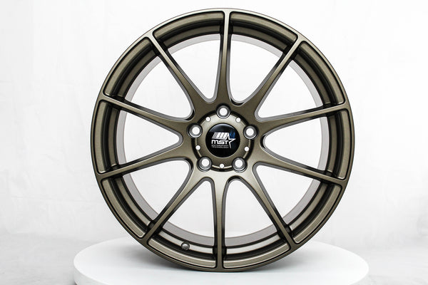 MT44 - Matte Bronze - 17x9.0 5x114.3 Offset +35