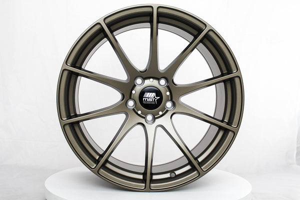 MT44 - Matte Bronze - 18x9.5 5x114.3 Offset +32