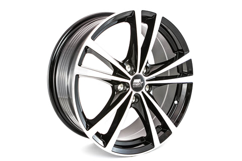 Saber - Glossy Black w/Machined Face - 17x7.0 5x115 Offset +45