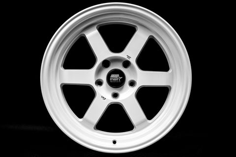 Time Attack - Glossy White - 17x9.0 5x114.3 Offset +20