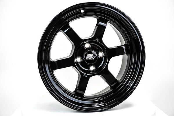 Time Attack - Glossy Black - 16x8.0 4x100 Offset +20