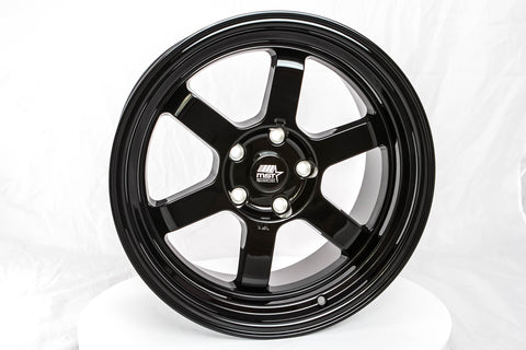 Time Attack - Glossy Black - 17x9.0 5x114.3 Offset +20