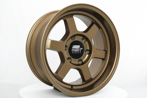 Time Attack-Truck - Matte Bronze - 17x8.5 6X139.7 Offset -10