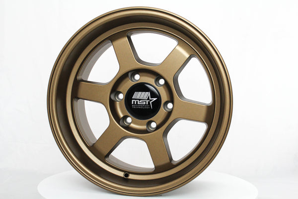Time Attack-Truck - Matte Bronze - 17x8.5 6X139.7 Offset -12