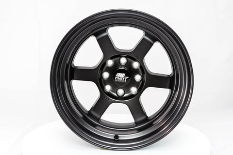 Time Attack - Smoked Black - 15x8.0 4x100/4x114.3 Offset +0