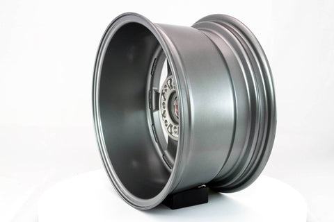 Time Attack - Gunmetal w/Machined Lip - 15x8.0 4x100/4x114.3 Offset +0