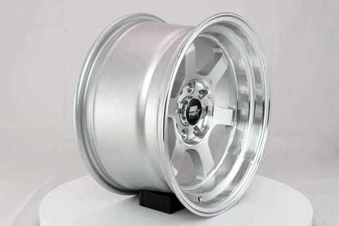 Time Attack - Machined - 15x8.0 4x100/4x114.3 Offset +0
