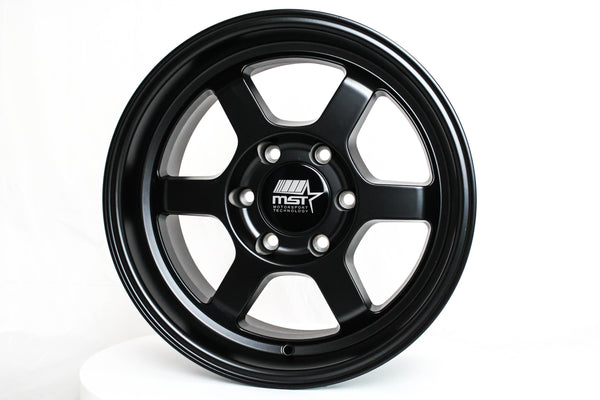 Time Attack-Truck - Matte Black - 17x8.5 6X139.7 Offset -10