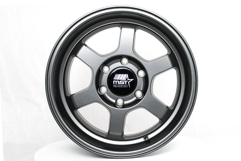 Time Attack-Truck - Matte Gunmetal - 17x8.5 6x139.7 Offset -10
