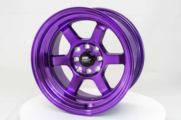 Time Attack - Cosmic Purple - 15x8.0 4x100/4x114.3 Offset +0
